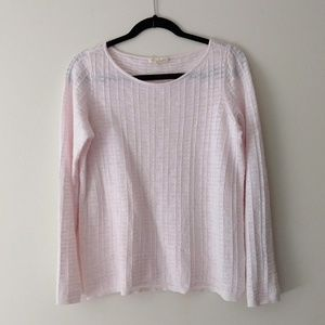 Eileen Fisher Soft Pink Sweater XS